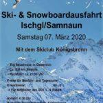Skiausfahrt Ischgl 07 März 2020